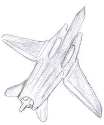 military fighter aircraft sketch royalty free stock photo image