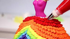 princess cakes 10 amazing princess dress cakes compilation