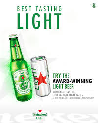 light beer calories list heineken heineken light carib brewery