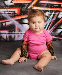 tattoo sleeves u0027 cute shirts and onesie that let babies rock