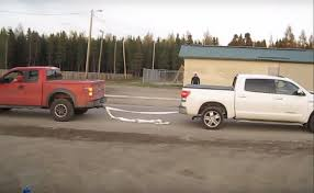 ford raptor vs toyota tundra ford vs toyota in an epic tug of war webbrewed