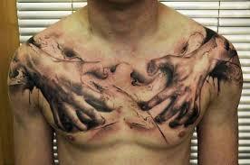 fotos de tatuagem no peito para homens ideias geniais