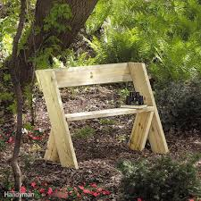 planter bench plans build a classic garden diy bench with dowel construction family