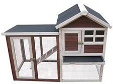 outdoor rabbit hutch small animal supplies ebay