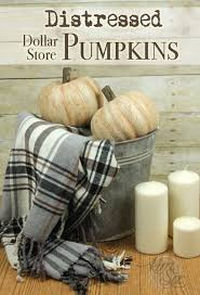 styrofoam pumpkins distressed dollar store pumpkins with a crackle finish the