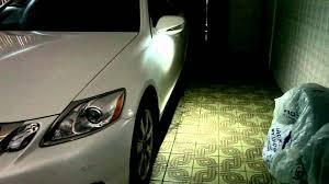 lexus is250 interior lights lexus gs350 puddle lights 5000k 2 youtube