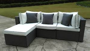 Outdoor Sofa Sets by Three Posts Burruss 4 Piece Sofa Set With Cushions U0026 Reviews Wayfair