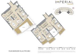 The O2 Floor Plan by Floor Plans Imperial Avenue Downtown Dubai