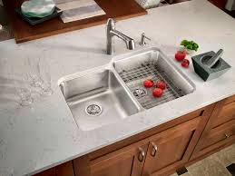 Stainless Steel Undermount Sink How To Install A Stainless Steel Kitchen Sinks With Drainboard
