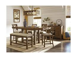 signature design by ashley moriville casual dining room group