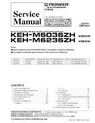 pioneer deh m7026zh 7526zh honda crt2078 service manual download