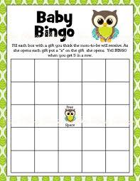 baby shower bingo printable boy owl woodland baby shower bingo bee busy designs