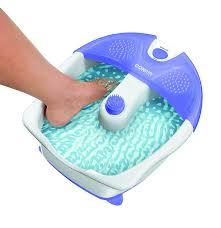 amazon com conair foot pedicure spa with vibration health