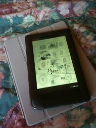kindle books on nook color reading manga on the nook color