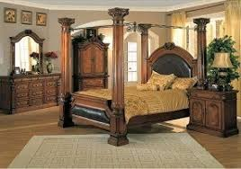 full size bedroom suites four post king size bedroom sets foter