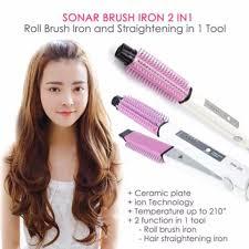 Sisir Roll the cheapest price dsh sonar 2 in 1 catokan rambut sisir catok
