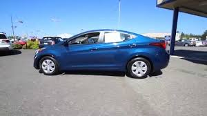 2016 hyundai elantra se windy sea blue gu482989 skagit