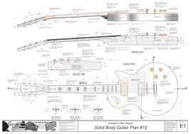 Blank Body Map Template by Solid Body Electric Guitar 15 Electronic Version Les Paul