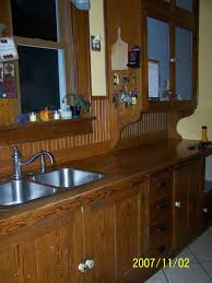 original fir cabinets in a 1923 bungalow kitchen early 1900s