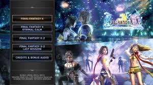 final fantasy 10 2 strategy guide final fantasy x x 2 hd remaster main menu youtube