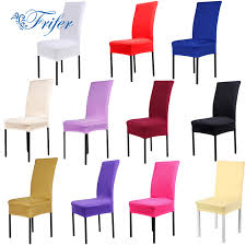 Dining Room Chair Protective Covers 11color Dining Chair Covers Spandex Stretch Dining Room Kitchen