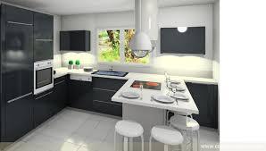 amenagement cuisine en l cuisine design moderne aménagement de la pièce en u matière