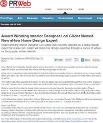 Award Winning Interior Design Websites lori gilder