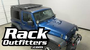 Smittybuilt Roof Rack by Jeep Jk Wrangler 2 Door Hard Top With Rhino Rack Pioneer Tray