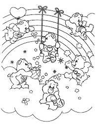care bears coloring pages games hd images