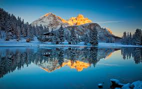 blue reflections wallpapers misurina lake reflections nature hd 4k wallpapers