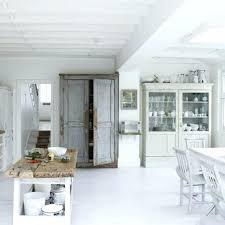 shabby chic kitchen cabinet doors curtains table ideas
