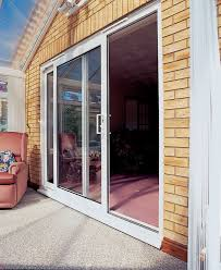 Bi Fold Glass Patio Doors by White Wooden Bifold Patio Doors In A Nice Design Jpg