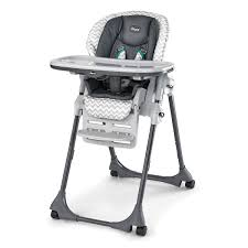 Evenflo Fold High Chair by Polly Double Pad Highchair Empire