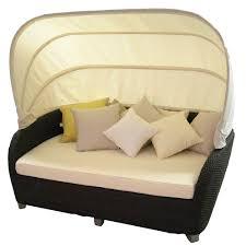 source outdoor st tropez wicker 2 piece day bed set wicker com