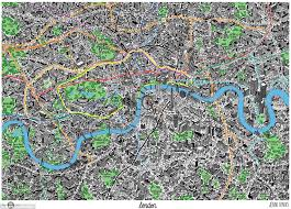 quirky london maps