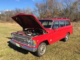 1971 jeep wagoneer very rare 1971 jeep custom wagoneer with 1972 factory v8 360 ci