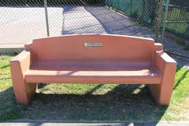 alameda california memorial benches alamedainfo
