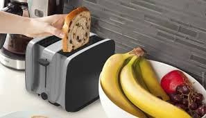 Vice Versa Toaster Crisp Toaster Collapses Into A Slimmer Slab When Not In Use