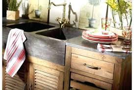 caisson cuisine bois meuble cuisine en bois massif facade meuble cuisine bois brut