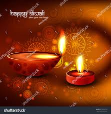 beautiful lamps beautiful religious colorful diwali festival beautiful stock