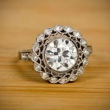 edwardian style engagement rings edwardian era wedding engagement ring history