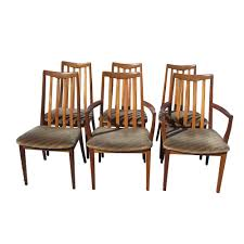 Mid Century Dining Room Chairs by Set Of Six Vintage Mid Century G Plan Fresco High Back Dining