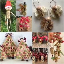 from scrap wine cork stoppers in wonderful diy ornaments