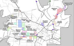 los angeles map pdf los angeles hpoz map october 2010 jeffersonparkunited org