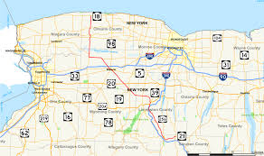 Buffalo State Map by New York State Route 63 Wikipedia