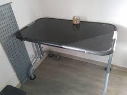 bureau metal et verre bureau metal et verre securit annonce meubles et décoration parc