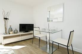 Modern Square Dining Room Sets Square Dining Table Oak Base And Glass Top Italian Design 1950