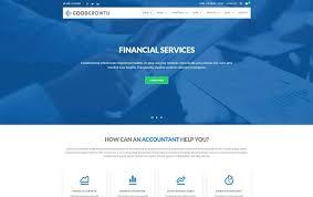 17 best responsive financial website templates html u0026 wordpress