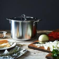 demeyere cuisine demeyere 5 plus stock pot with lid 8qt on food52