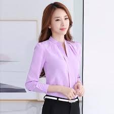 formal blouse formal career shirt office top ol sleeve work